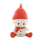 Lovely Cartoon Snow Man Soft Stuffed Plush Animals Doll Baby Toy Kids GIft