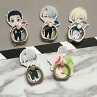 Universal Mobile Phone Stand Holder Anime-Ice Yuri Exquisite Acrylic Ring