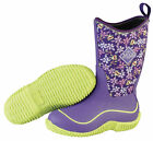 Muck Boots Kids Hale Boot Outdoor Sport for Girl's - Purple Frogs