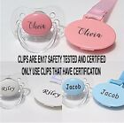 PERSONALISED SOOTHER AVENT *CAN BE STERILISED* SOOTHER, PACIFIER, DUMMY CLIP,