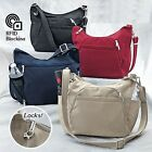 RFID Anti-Theft Cross-body Handbags Antitheft Bag Multiple Inside Pockets Travel image