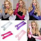 Bridal Satin Opera Prom Wedding Gloves Long Gloves New Evening Party Costume