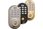 Yale Real Living Electronic Push Button Electronic Deadbolt YRD210-NR