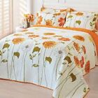 Quilt Sun Shine Sunny Blooms Breathable 100% Cotton Comfy lightweight Bed Cover image