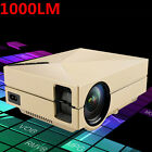 5000 Lumens Mini 3D Home Cinema Theater LED Projector 1080P FHD HDMI AV USB VGA