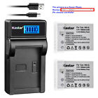 Kastar NB-5L Battery CB-2LXE Charger for Canon PowerShot S100 PowerShot SX230 HS