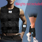 Adjustable Empty Vest Jacket & Hand Wrist & Leg Ankle Strength Fitness Training