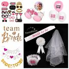 Team Bride Balloons Hen Night Out Do Party Games Accessories Wedding Decor Favor