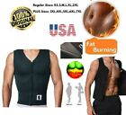 Men USA Neoprene 2mm Body Shaper Slimming Waist Belt Yoga Sweat Shapers Hot Vest