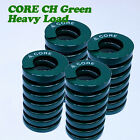 4pcs CORE CH8mm Heavy Load Mold die spring Green Stamping Press Mould Coil.