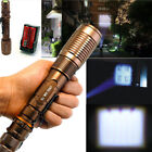 20000LM Police Tactical T6 LED 5 Modes 18650 Flashlight Torch Zoomable USA