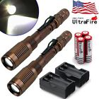Kyпить 20000LM Police Tactical T6 LED 5 Modes 18650 Flashlight Torch Zoomable USA на еВаy.соm