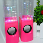 LED Dancing Water Show Music Fountain Light Speakers for Phones Computer Laptop