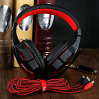 Gaming Headset Surround Stereo Headband Headphone 3.5mm with Mic for PC MC