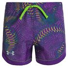 Under Armour HeatGear Stunner Novelty Youth Girls Crush Print Active Shorts
