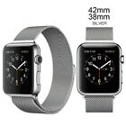 For Apple Watch iWatch Stainless Steel Magnetic Bands Loop Watch Bands Strap