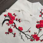 Blossom Flower Applique Clothing Embroidery Patch Sticker Iron On Sew Cloth Hot