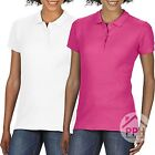 2 Pack Gildan Soft Style Ladies Polo Shirt Work Wear Top Wholesale Plain SALE
