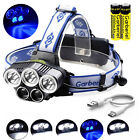 pretzel head torch - 80000LM 5x T6 LED Rechargeable 18650 USB Headlamp Head Light Torch Lamp USA