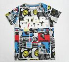 Boys Teens T Shirt STAR WARS Print Kids Top T Shirts ex M@S 7-8 to 15-16 yrs
