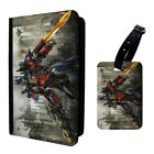 Transformers Optimus Prime Printed Luggage Tag & Passport Holder - T2801