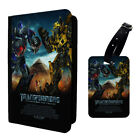 Transformers Poster Printed Luggage Tag & Passport Holder - T2807