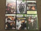 X-BOX 360 -GAMES- (6) -  See Description for Listings - Good
