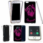 360° Silicone gel full body Case Cover for many mobiles - pink taurus