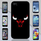 Chicago Bulls Dark Bull Apple iPhone & Samsung Galaxy Case Cover