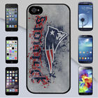New England Patriots NFL Rough Design Case Cover for iPhone & Galaxy