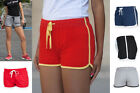 Ladies Womens Retro Short Shorts - Sports Gym Run Fitness Outdoor Summer Look