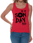 Is It Sunday Yet Billiards Women's Tank Tops Game Day Humor Funny Quote $13.85 USD on eBay