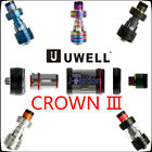 300% Authentic UWELL Crown 3 Sub Ohm Tank 5ml Full Kit - 5 colors Fast FREE SHIP