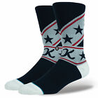 STANCE NEW Mens Suit Up Evel Knievel Socks Navy BNWT