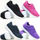 GIRLS RUNNING TRAINERS NEW KIDS SHOCK ABSORBING SCHOOL SPORTS FASHION SHOES SIZE