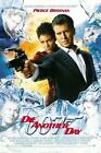 James Bond 007 Die Another Day Movie Poster Canvas Poster Print Pierce Brosnan £20.0 GBP