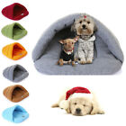 1pc Cat Kitten Cave Pet Dog Warm Bed House Puppy Sleeping Mat Pad Igloo Nest Bag