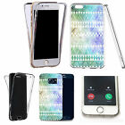 360° Silicone gel full body Case Cover for many mobiles - spring aztec