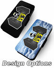 God is a DJ Parody Designs Printed Faux Leather Flip Phone Cover Disco Club #2