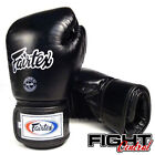 Fairtex Breathable Boxing Gloves - Black - FREE P&P - Muay Thai, MMA, Boxing