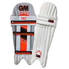 Gunn & Moore 202 Mens Kids Cricket Batting Pads White / Red Leg Guards