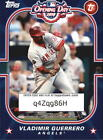 2010 Topps Opening Day Topps Town Stars - Finish Your Set
