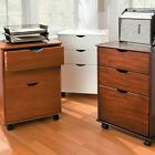 3 Drawer Rolling Storage Cart Filing File Cabinet Home Of...