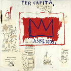 24Wx24H UNTITLED 1983 PER CAPITA ZEUS by JEAN-MICHEL BASQUIAT- CHOICES of CANVAS