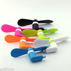 Portable Mini Electric Cooling Cooler Fan For Cell Phone iPhone 7 6 6S Plus 5 5C