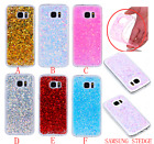 Bling Shiny Glitter Soft TPU Silicone Gel Case Shockproof Back Cover For Samsung