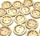 Rosey's Craft Shop Quality 20mm Made With Love Buttons Embellishments scrapbook