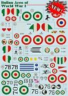 Print Scale 72-267 Decal for Italian Aces of WW I 1:72