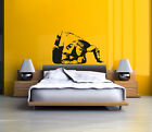 Banksey Style Wall Sticker, Wall Decal, Wall Art Transfer