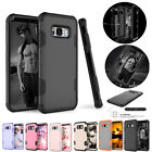 Hybrid Rugged Armor Shockproof Rubber Phone Case Cover For Galaxy S8 / S8 Plus